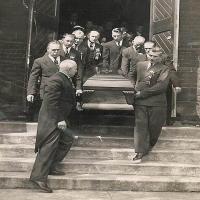 Leaving Church 1940